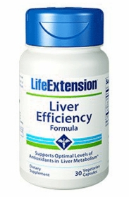 Liver Efficiency Formula - Life Extension - 30 Vegetarian Caps