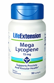 Mega Lycopene (15 mg) - Life Extension - 90 Softgels