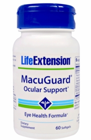 MacuGuard Ocular Support - Life Extension - 4-Pak