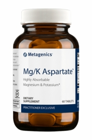 Mg/K Aspartate - Metagenics (60 Tablets) - TwinPak