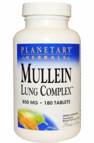 BACK IN STOCK Mullein Lung Complex (850mg) - 180 Tablets