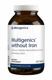 Multigenics without Iron - Metagenics (180 Tablets) - TwinPak