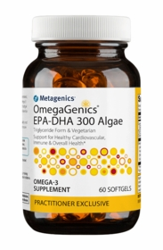 OmegaGenics EPA-DHA 300 Algae - Metagenics - 60 Softgels