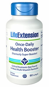 Once-Daily Health Booster - Life Extension - 60 softgels - 4-Pak