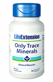 Only Trace Minerals - Life Extension - 180 Capsules - TwinPak
