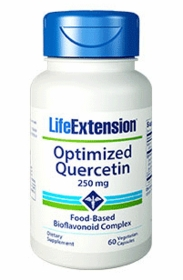 Optimized Quercetin (250 mg) - Life Extension - 60 Vegetarian Caps