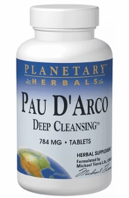 Pau d'Arco Deep Cleansing (735mg) - Planetary Herbals -150 Tablets