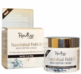 Nasolabial Fold+ Multi-Peptide Cream - Reviva - 2 oz Jar