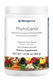 PhytoGanix®s Tropical Fruit Flavor - Metagenics (10.58 oz. / 300g) Powder