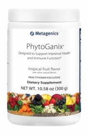 PhytoGanix Tropical Fruit - Metagenics - 300 Grams Powder