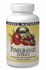 Pomegranate Extract (500mg) - Source Naturals - 240 Tabs