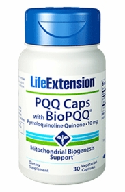 PQQ Capsules with BioPQQ (10 mg) - Life Extension - 30 Vegetarian Caps