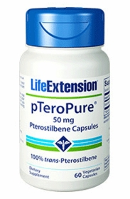 pTeroPure - Life Extension - 60 Vegetarian Capsules