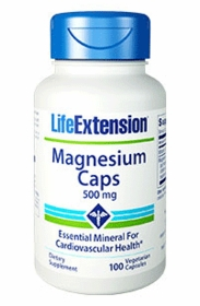 Magnesium (500 mg) - Life Extension - 4-Pak