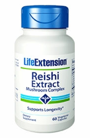 Reishi Extract Mushroom Complex - Life Extension - 60 Vegetarian Caps