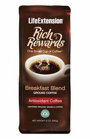 Rich Rewards Breakfast Blend - Life Extension - 12 oz. (340 grams)