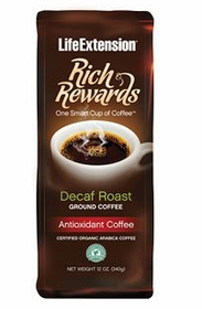 Rich Rewards Decaf Roast - Life Extension - 12 oz. (340 grams)