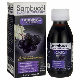 Sambucol Original Black Elderberry Extract - 4 fl. oz. TwinPak