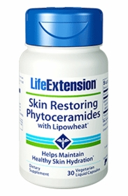 Skin Restoring Phytoceramides With Lipowheat - Life Extension - 30 Liquid Capsules - TwinPak