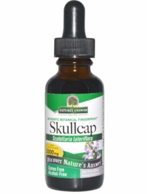 Skullcap Herb (1 fl oz) - Nature's Answer - TwinPak