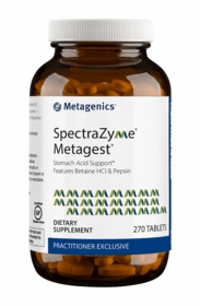 SpectraZyme Metagest - Metagenics - 270 Tabs