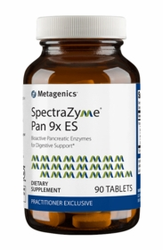 SpectraZyme Pan 9x ES - Metagenics - 90 Tabs