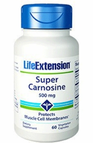 Super Carnosine (500 mg) - Life Extension - 60 vegetarian capsules