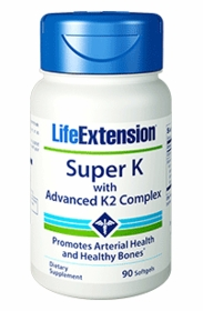 Super K with Advanced K2 Complex - Life Extension - 4-Pak