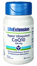 Super Ubiquinol Coq10 (100 mg) - Life Extension - 60 Softgels