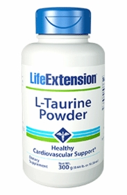 L-Taurine Powder - Life Extension - 300 Grams