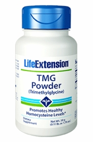 TMG Powder - Life Extension - Net Wt. 50 g (0.11 lb. or 1.76 oz.) TwinPak