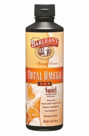Barlean's Total Omega Swirl 3-6-9 (orange cream) - 16 fl oz