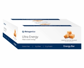 Ultra Energy Bars - Caramel Sea Salt or Chocolate Chip Cookie Dough