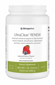 UltraClear Renew - Metagenics - Berry, Chai, or Vanilla