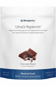 UltraGI Replenish - Metagenics - Chocolate or Vanilla - 14 Servings