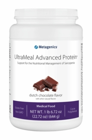 UltraMeal Advanced Protein - Dutch Chocolate, French Vanilla or Plain - 14 Servings