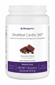UltraMeal Cardio 360 Pea & Rice Protein - Chocolate, Vanilla or Pear - 14 Servings