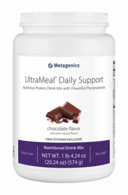 UltraMeal Daily Support - Chocolate or Mixed Berry - 14 Servings - TwinPak