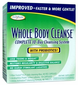 Whole Body Cleanse Laxative Formula Kit - Enzymatic Therapy