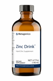 Zinc Drink - Metagenics (4.7 fl.oz. / 140ml) 28 Servings - TwinPak
