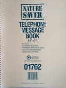 #01762 PHONE MESSAGE BOOK w/duplicate messages
