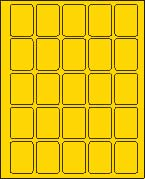 1 1/2 X 2 BRILLIANT YELLOW (L1520BY)