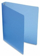 "1"" BLUE POLY BINDER (40753)"