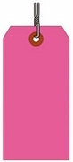 #1 FL PINK SHIPPING TAG WIRED