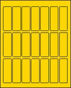 1 X 3 BRILLIANT YELLOW - L1030BY