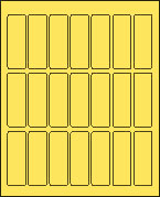 1 X 3 PASTEL YELLOW L1030PY