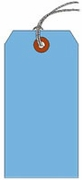 #10 JUMBO BLUE SHIPPING TAG STRUNG
