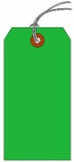 #10 JUMBO GREEN SHIPPING TAG STRUNG
