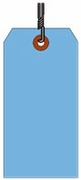 #10 JUMBO BLUE SHIPPING TAG WIRED