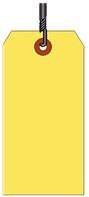 #10 JUMBO YELLOW SHIPIPNG TAG WIRED